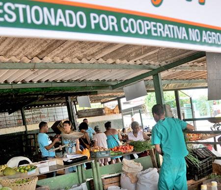 Cooperativas no agropecuarias. Agromercado 26 y 41.