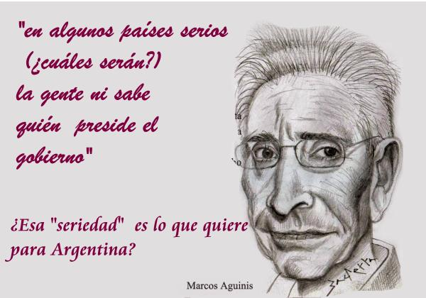 Marcos Aguinis OPINA