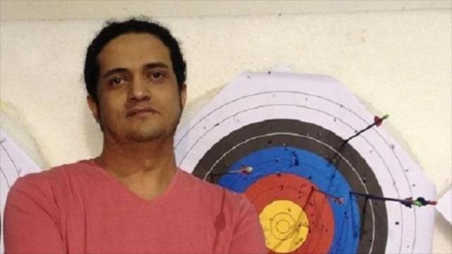poeta palestino Ashraf Fayad